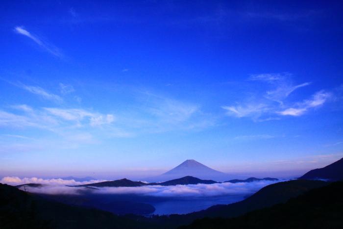 令和2年8月の富士(20) 大観山の赤富士 _e0344396_23014088.jpg