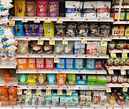 アメリカの健康に良いお菓子、ヘルシー・スナック(Healthy Snacks)_b0007805_01235705.jpg