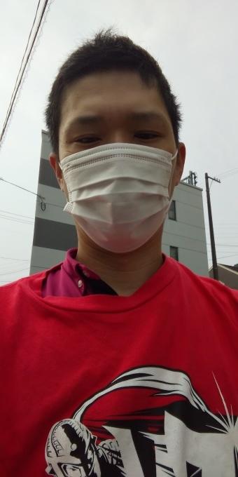 本日もアベノマスクよりコンビニのマスクで介護現場に出勤です!_e0094315_08255486.jpg