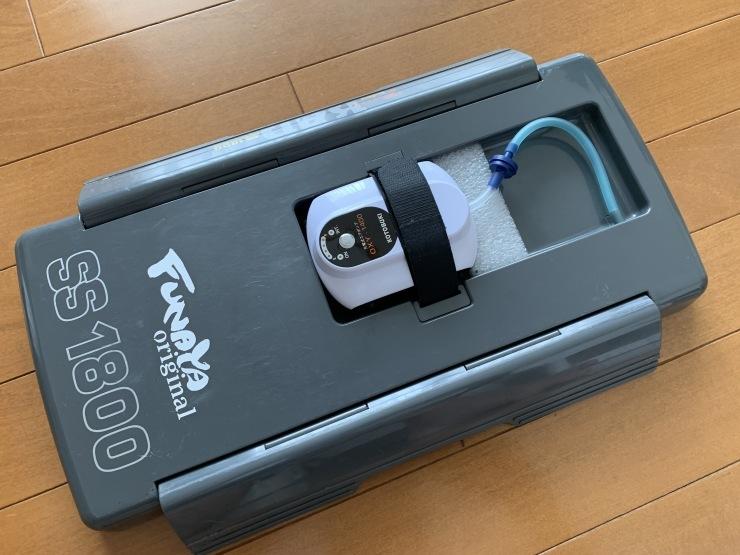 オトリ缶のブクブク「OXY-1400」_f0103126_05542532.jpg