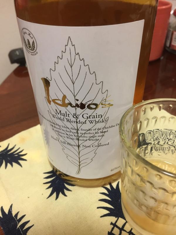Ichiro\'s Malt&Grain、と白いつまみたち_f0101128_10063594.jpg