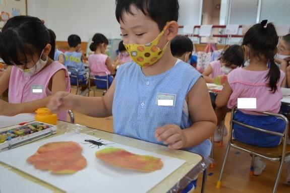 ✩造形教室✩ ~年少組・年長組~_e0125433_15052250.jpg