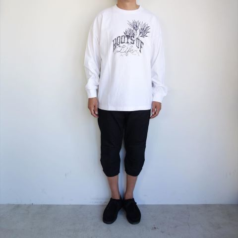 THE NORTH FACE PURPLE LABEL : ROL 7oz L/S Graphic Tee_a0234452_12271455.jpg