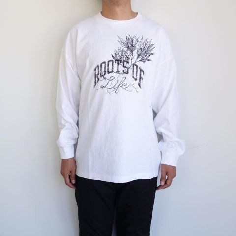 THE NORTH FACE PURPLE LABEL : ROL 7oz L/S Graphic Tee_a0234452_12272073.jpg