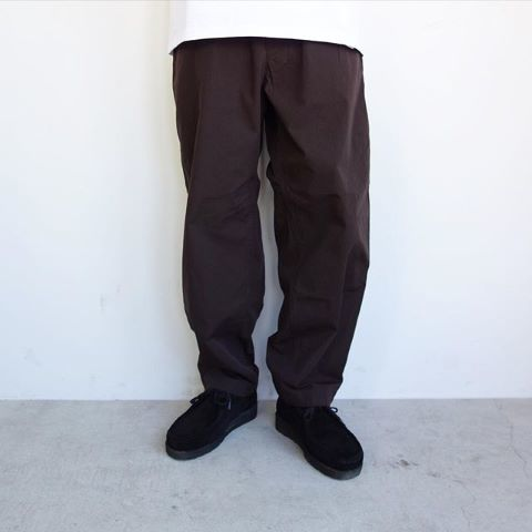 THE NORTH FACE PURPLE LABEL : Ripstop Shirred Waist Pants_a0234452_12355745.jpg