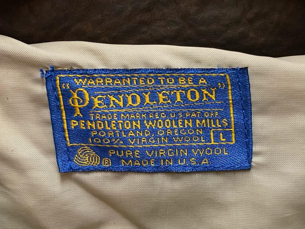 9月12日(土)大阪店冬物スーペリア入荷!!#3 Pendleton編!!BlanketJKT,BlanketVest&WoolShirt!!_c0078587_12532102.jpg