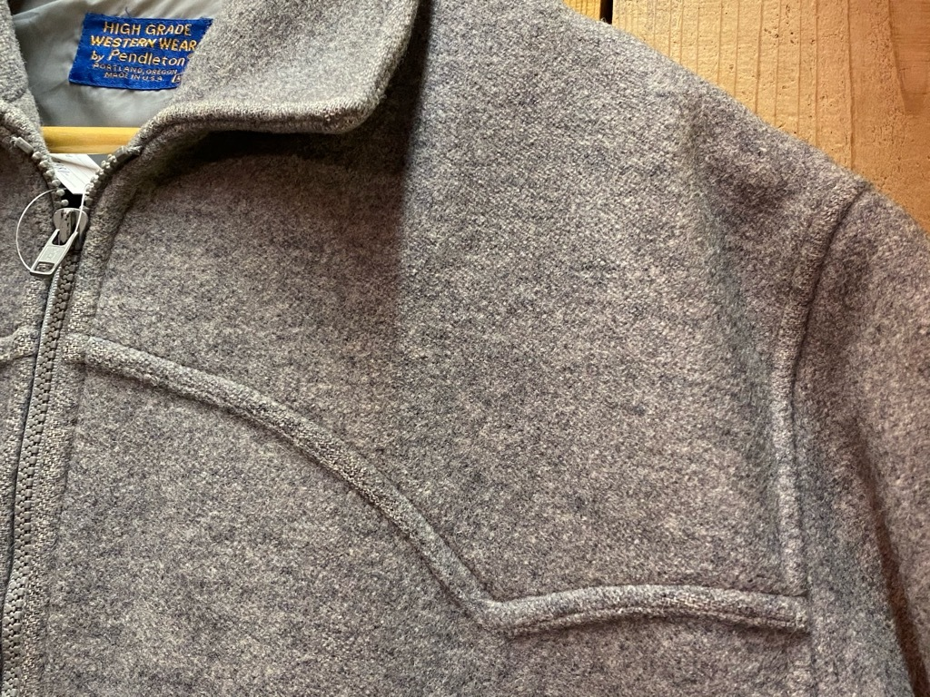 9月12日(土)大阪店冬物スーペリア入荷!!#3 Pendleton編!!BlanketJKT,BlanketVest&WoolShirt!!_c0078587_12534616.jpg
