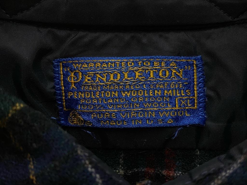 9月12日(土)大阪店冬物スーペリア入荷!!#3 Pendleton編!!BlanketJKT,BlanketVest&WoolShirt!!_c0078587_13035944.jpg