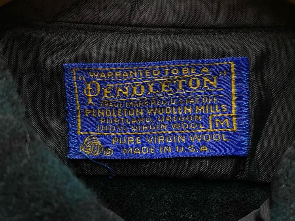 9月12日(土)大阪店冬物スーペリア入荷!!#3 Pendleton編!!BlanketJKT,BlanketVest&WoolShirt!!_c0078587_13042094.jpg