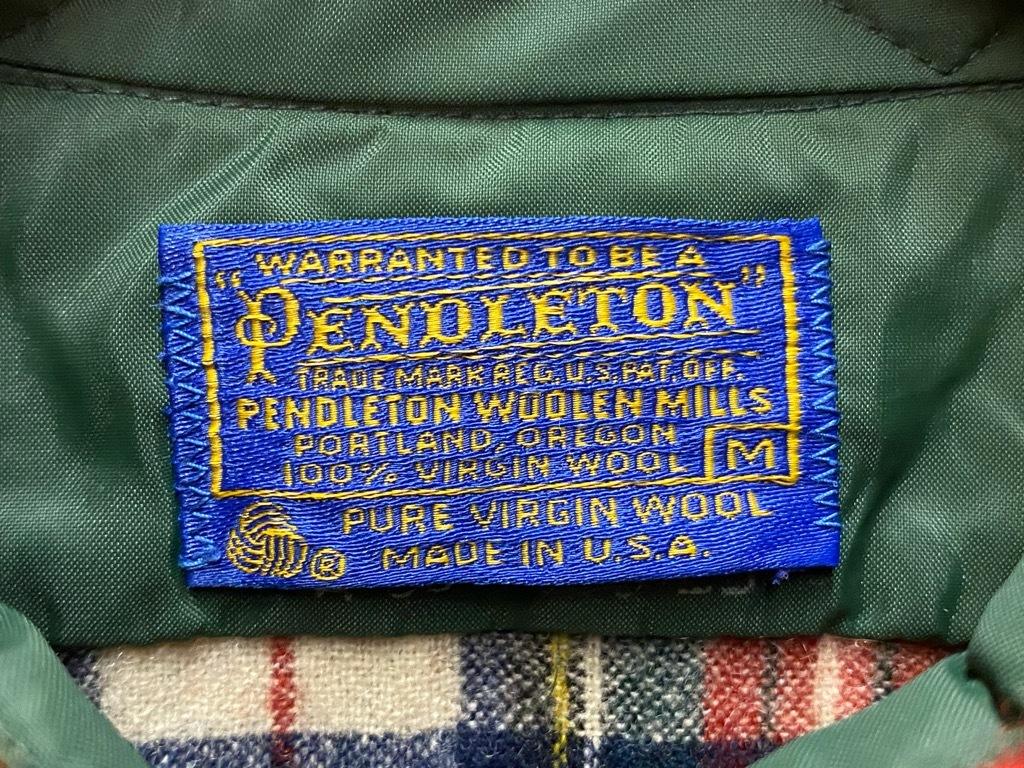 9月12日(土)大阪店冬物スーペリア入荷!!#3 Pendleton編!!BlanketJKT,BlanketVest&WoolShirt!!_c0078587_13045166.jpg