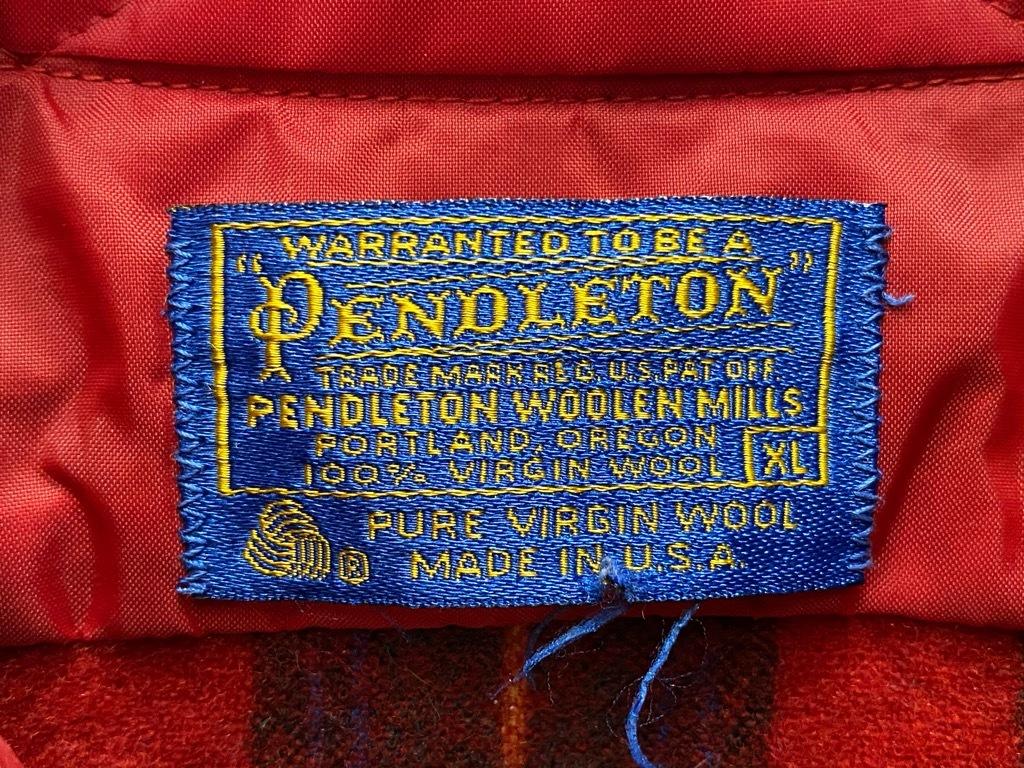 9月12日(土)大阪店冬物スーペリア入荷!!#3 Pendleton編!!BlanketJKT,BlanketVest&WoolShirt!!_c0078587_13050254.jpg