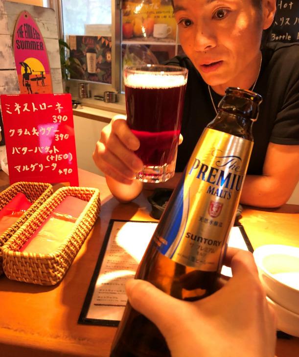 中年の日本帰郷 Vol.52  へなちょこ隊長と再会呑み @新橋のカフェバー_e0034987_04152265.jpg