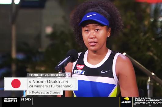 USオープン・テニス、大坂なおみ選手の言動に全米が感動、「すでに優勝以上の成功」との声も_b0007805_01113793.jpg