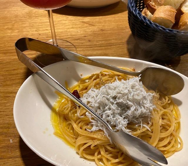 wine bar  次男夫婦と再び♪_a0165160_17564813.jpg