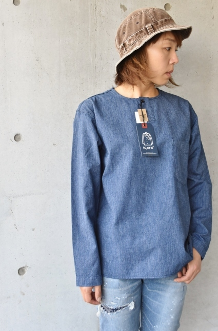 DENIM HENRY SHIRTS  By Kato 再_d0152280_06115864.jpg