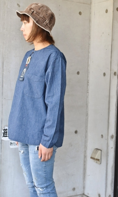 DENIM HENRY SHIRTS  By Kato 再_d0152280_06135312.jpg