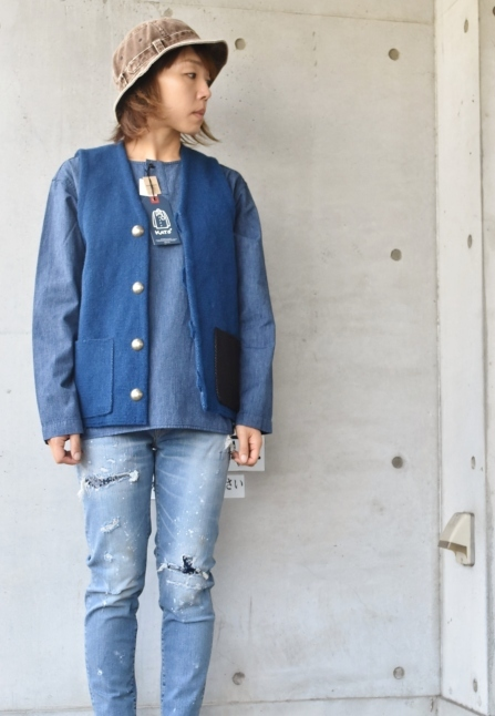 DENIM HENRY SHIRTS  By Kato 再_d0152280_06145623.jpg