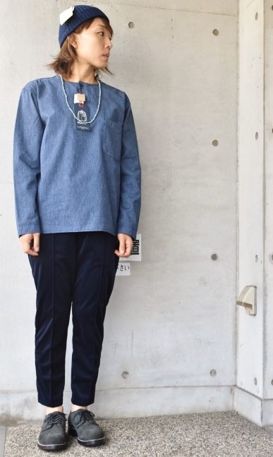 DENIM HENRY SHIRTS  By Kato 再_d0152280_06155521.jpg