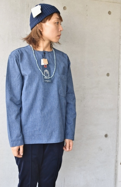 DENIM HENRY SHIRTS  By Kato 再_d0152280_06161447.jpg