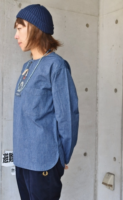 DENIM HENRY SHIRTS  By Kato 再_d0152280_06165648.jpg