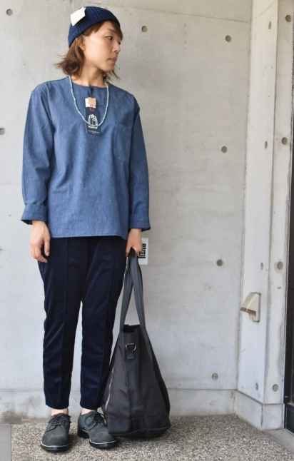 DENIM HENRY SHIRTS  By Kato 再_d0152280_06180442.jpg