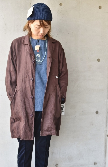 DENIM HENRY SHIRTS  By Kato 再_d0152280_06190185.jpg