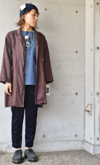 DENIM HENRY SHIRTS  By Kato 再_d0152280_06192879.jpg