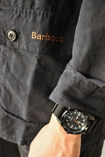 Barbour   開襟シャツ★   最高★★_d0152280_20235335.jpg