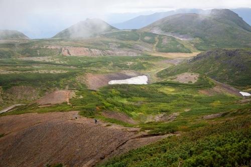 大雪高原温泉~黒岳へ縦走登山。_d0198793_12542327.jpg
