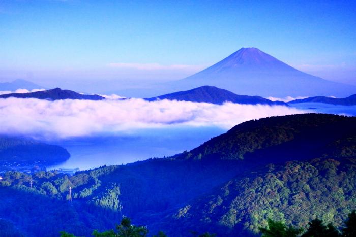令和2年8月の富士(21) 大観山から遠望富士 _e0344396_21262886.jpg
