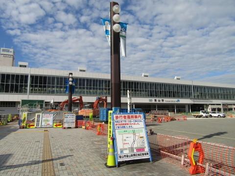 富山駅北口広場整備状況 2020.8_f0281398_20261481.jpg