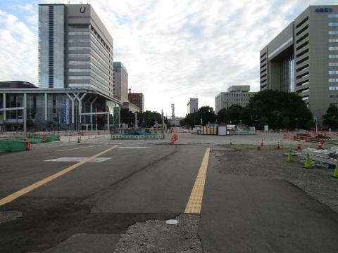 富山駅北口広場整備状況 2020.8_f0281398_20292689.jpg