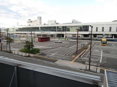 富山駅北口広場整備状況 2020.8_f0281398_20425194.jpg