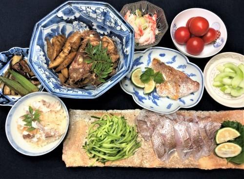 小さな鯛の料理法_a0346704_19455056.jpg