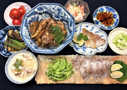 小さな鯛の料理法_a0346704_19455684.jpg
