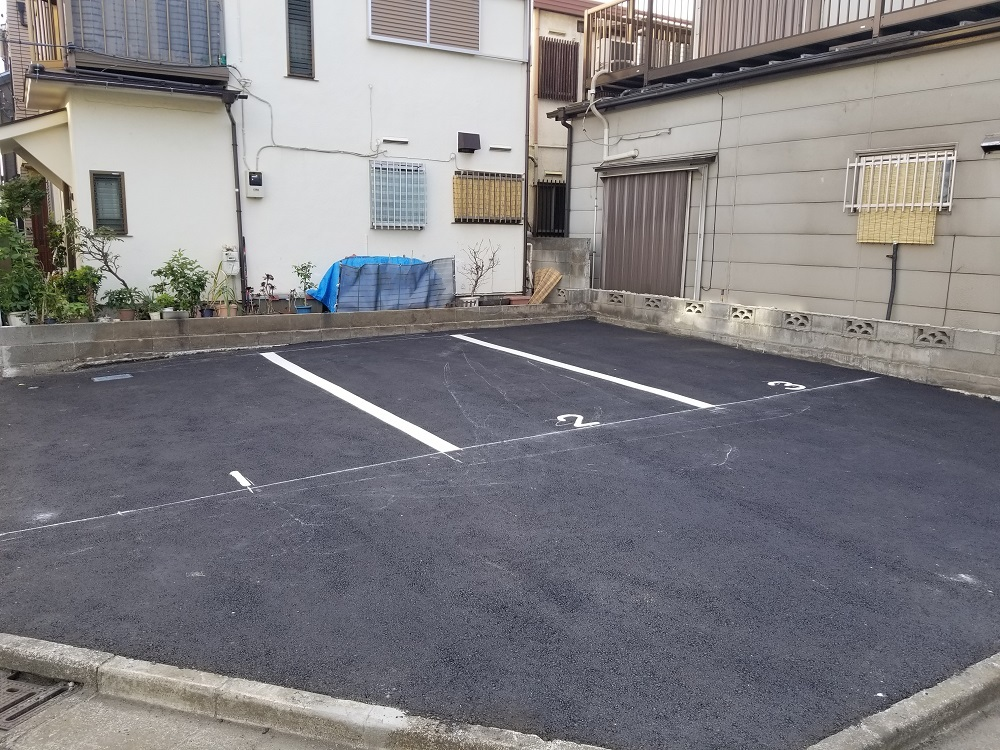 渡田3丁目に月極駐車場OPEN_e0341430_16380372.jpg