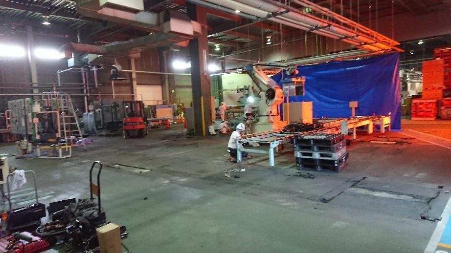 工事途中過程二台のパ..._d0174738_23012934.jpg