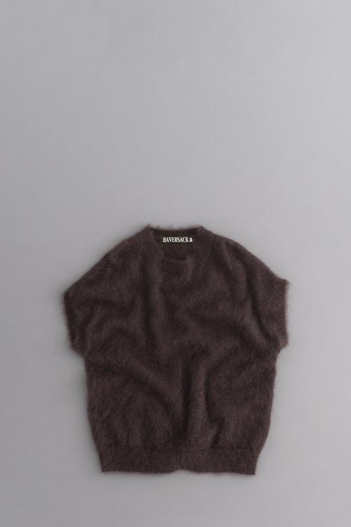 HAVERSACK Mohair Vest (Brown)_d0120442_1119732.jpg