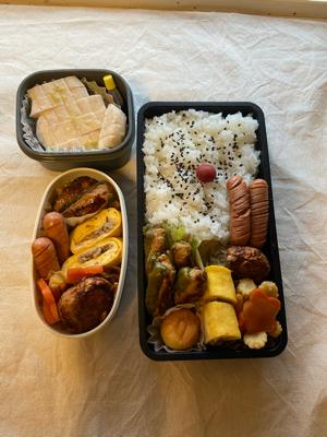 晩ご飯やらお弁当やら(チンジャーロース・余った餃子の餡を使ったおかずなど)_b0223446_14173156.jpg