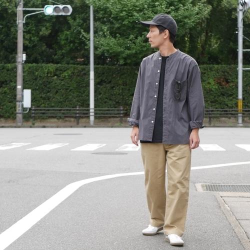 KATO\' Stand Collar Wide Shirts_e0247148_14440706.jpg