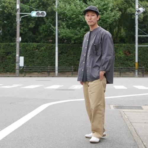 KATO\' Stand Collar Wide Shirts_e0247148_14441376.jpg