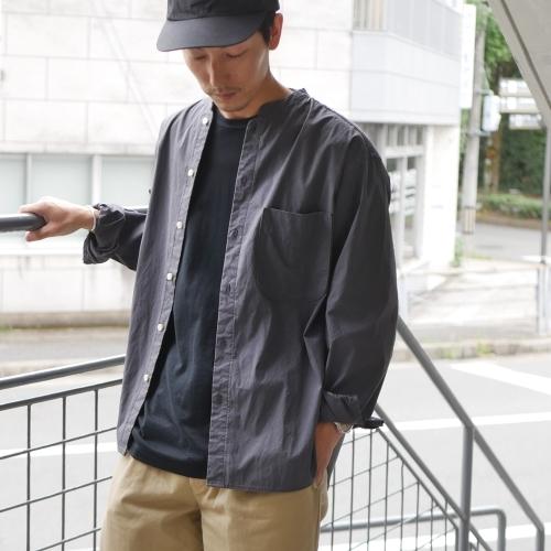 KATO\' Stand Collar Wide Shirts_e0247148_14443712.jpg