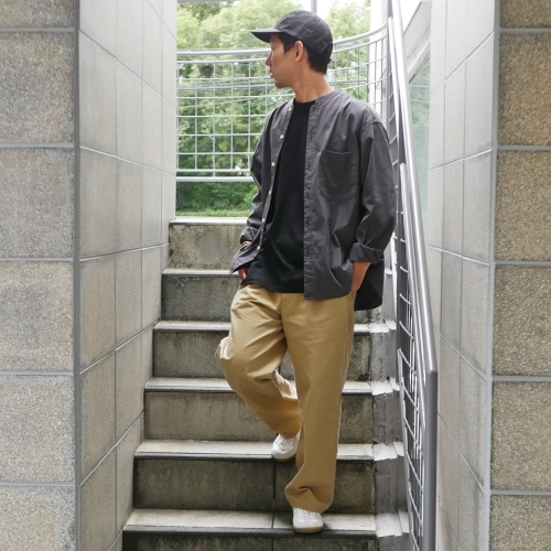 KATO\' Stand Collar Wide Shirts_e0247148_14444923.jpg