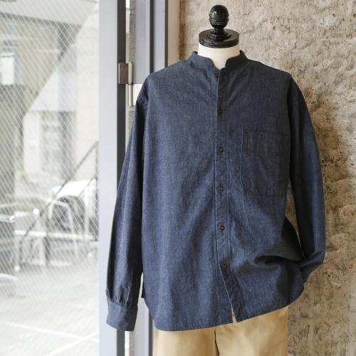 KATO\' Stand Collar Wide Shirts_e0247148_14460376.jpg