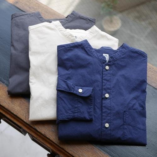 KATO\' Stand Collar Wide Shirts_e0247148_14465514.jpg