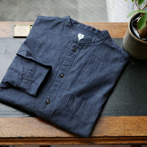 KATO\' Stand Collar Wide Shirts_e0247148_15362894.jpg