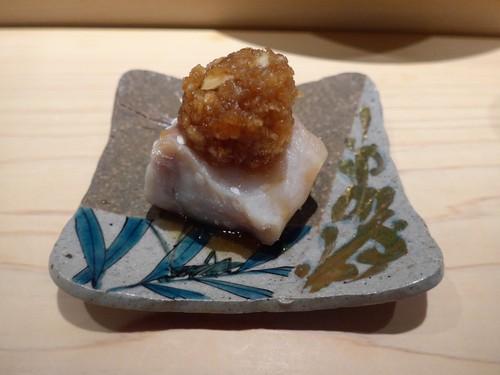 渋谷「熟成鮨 万」へ行く。_f0232060_1914223.jpg
