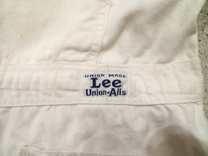 WWⅡ Lee UNION-ALLS All In One_e0187362_12410861.jpg