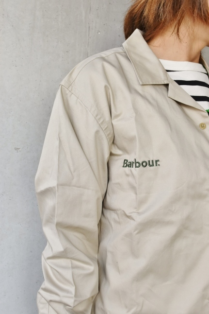 Barbour   開襟シャツ★   最高★★_d0152280_16512834.jpg
