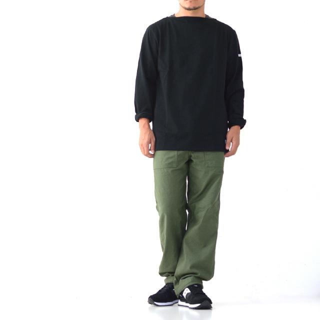 ORCIVAL [オーチバル・オーシバル] VASQUE SOLID TEE [B211] COTTON LOURD バスクシャツ  無地 MEN\'S/LADY\'S _f0051306_17264611.jpg